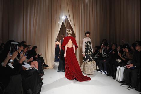 Показ Valentino Haute Couture | галерея [1] фото [39]