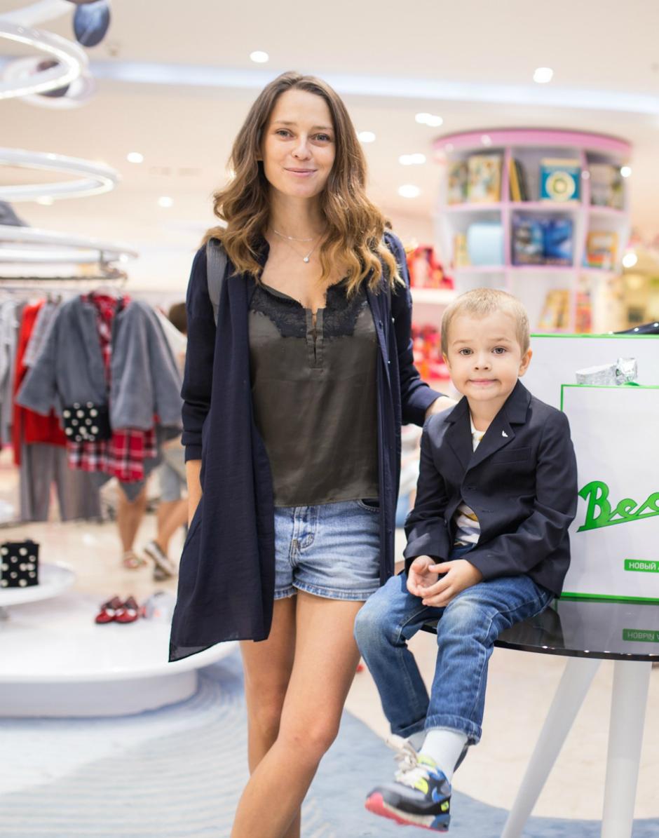 фотограф Лена Сарапульцева с сыном Колей