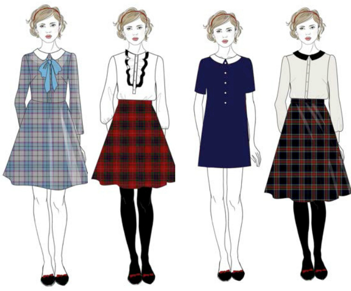 Бренд A LA RUSSE Anastasia Romantsova выпустил коллекцию школьной формы