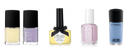 Pierre Hardy for NARS, Ciaté Loop the Loop, Essie Go Ginza, M.A.C Blue Velvet
