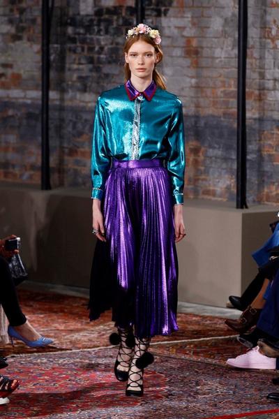 Дом Gucci представил новую круизную коллекцию 2016 | галерея [2] фото [28]
