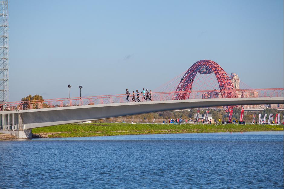 В Москве состоялся забег «Стань человеком-6»