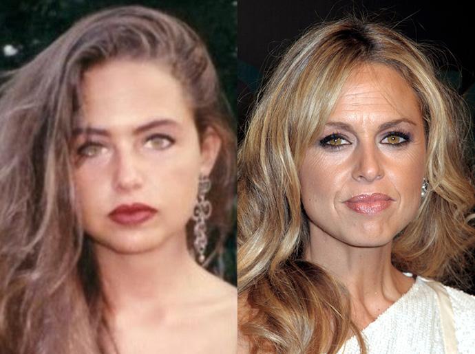 Рейчел Зоуи в 1985 и в 2006