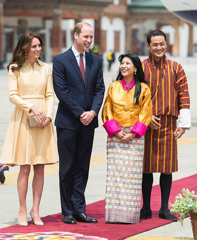 Официальный визит герцога и герцогини Кембриджских в Бутан