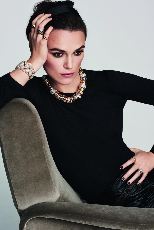 Кира Найтли стала лицом ювелирной коллекции Chanel