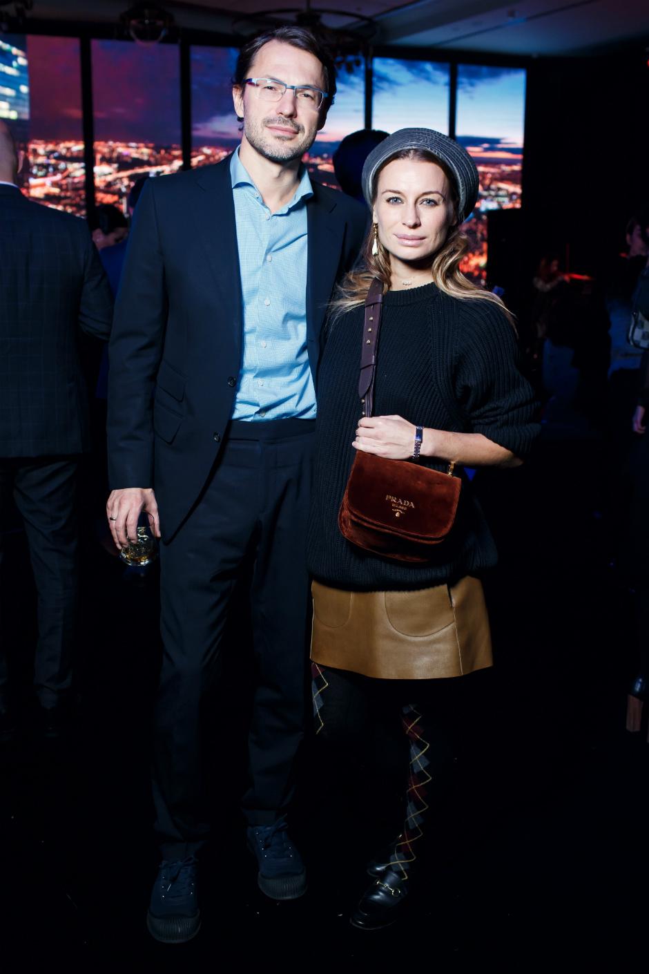бизнесмен Сергей Рябцов с супругой Анастасией