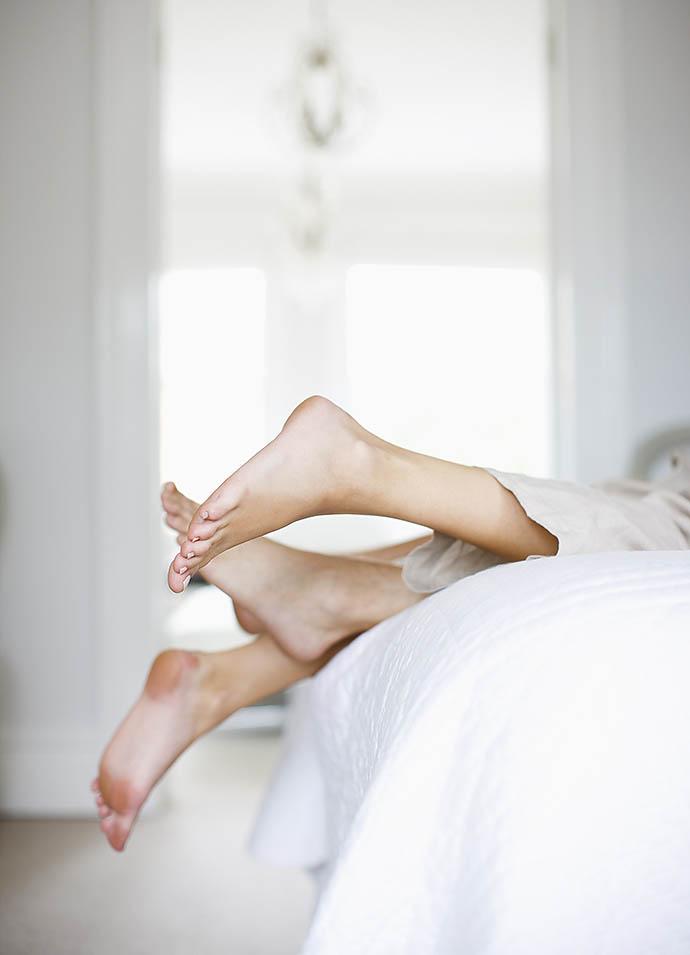 6. «Нога к ноге»