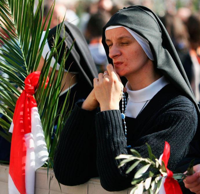 Пальмовое воскресенье в Ватикане
