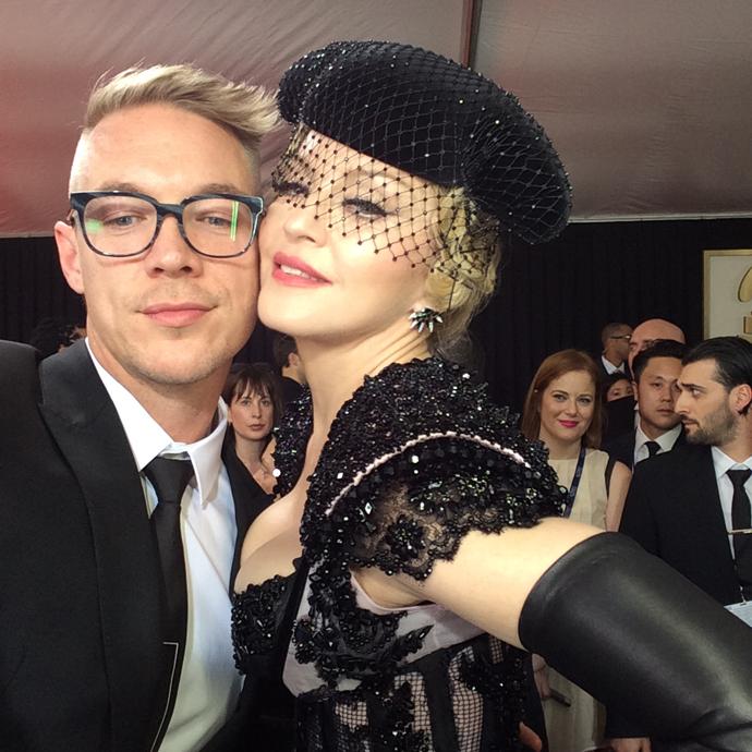 Мадонна и Diplo