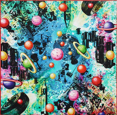 Тренд недели: космические фантазии | галерея [1] фото [6]