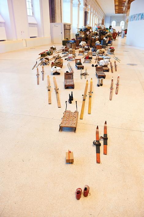 В «Манеже» прошло VIP-превью Пятой Московской биеннале современного искусства