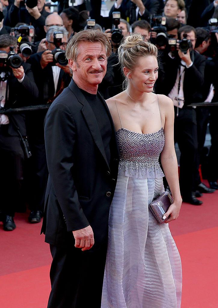 Шон Пенн с дочерью Дилан