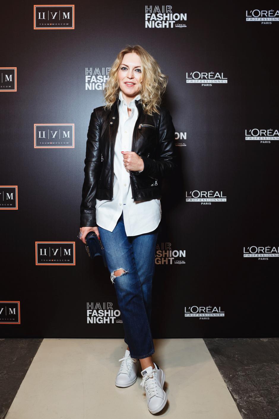 Сегодня ночью: знаменитости на Hair Fashion Night