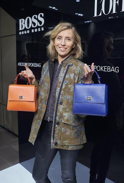 HUGO BOSS представил в России сумку BOSS Bespoke | галерея [1] фото [2]