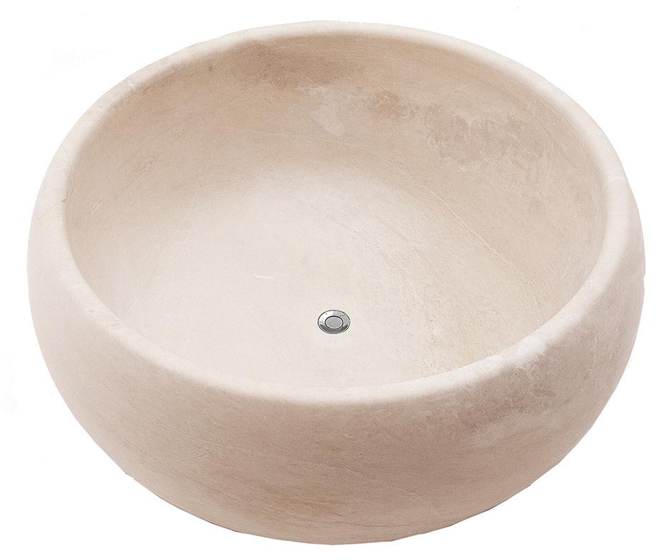 Ванна Bomber, натуральный камень, Antoniolupi, салоны «Танит».