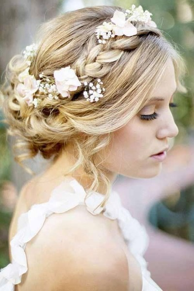 Как украсить цветами свадебную прическу? | галерея [2] фото [3]