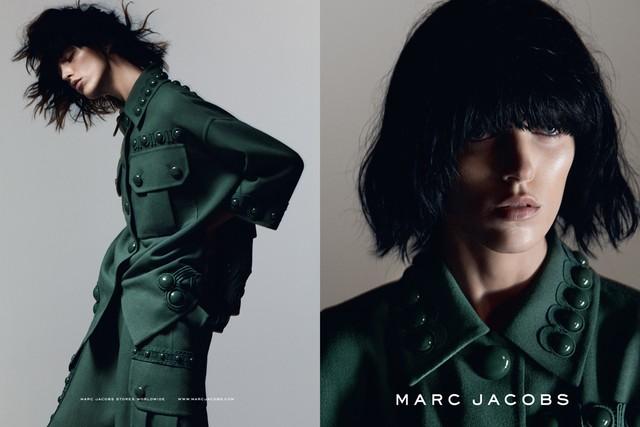 Аня Рубик для Marc Jacobs