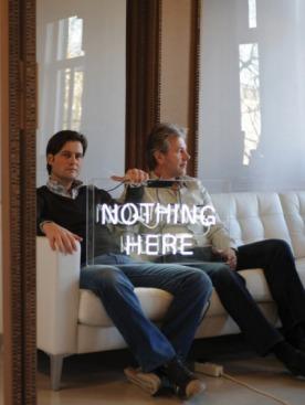 Майкл Янсен и Бас Корстен на рабочем месте.