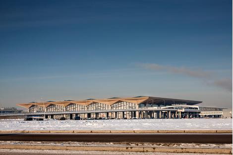 Аэропорт Пулково в Санкт-Петербурге