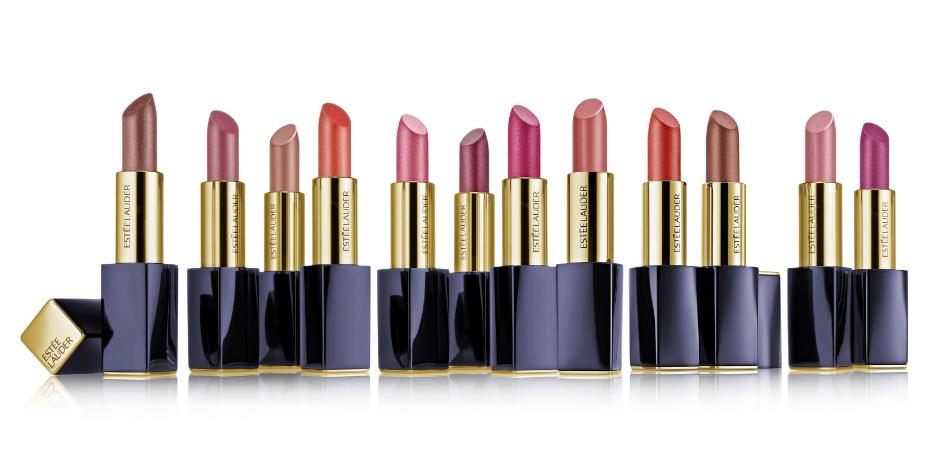 Помады Pure Color Envy Hi-Lustre Sculpting Lipstick и лаки для губ Pure Color Envy Vinyl Lip Color от Estee Lauder