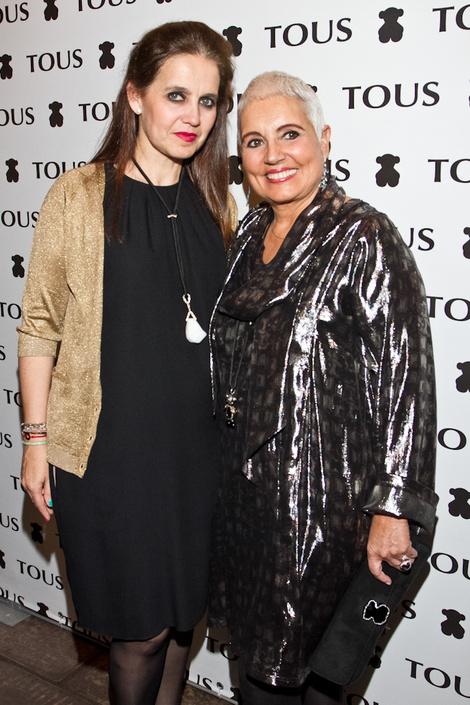 Мадам Тоус с дочерью Розой