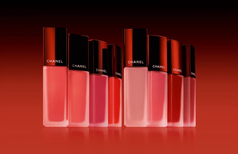 Chanel представили коллекцию жидких матовых помад Rouge Allure Ink
