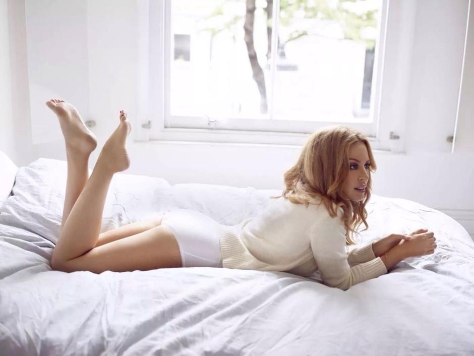 Кайли Миноуг в рекламной кампании бренда Sloggi