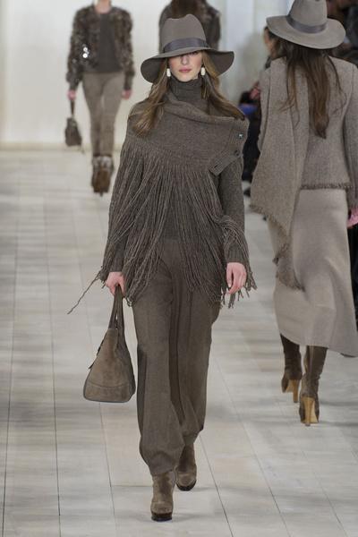 Показ Ralph Lauren на Неделе моды в Нью-Йорке | галерея [1] фото [38]