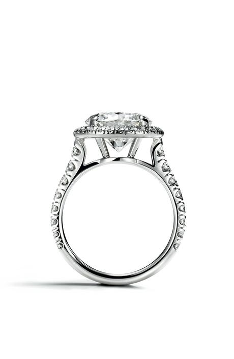 Кольцо Destinée, платина, бриллианты, Cartier