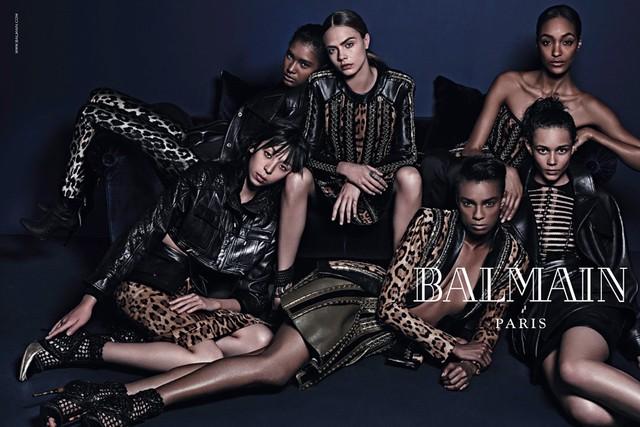 Новая коллекция Balmain осень-зима 2014-15