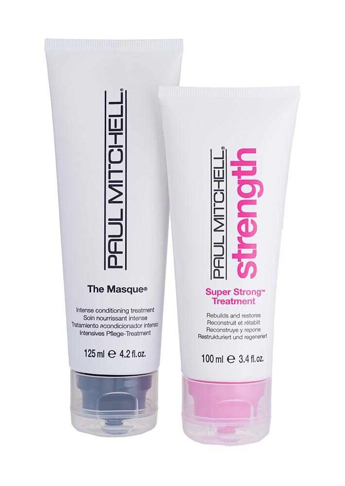 Маска The Masque Original и уход Super Strong Treatment Strength, Paul Mitchell
