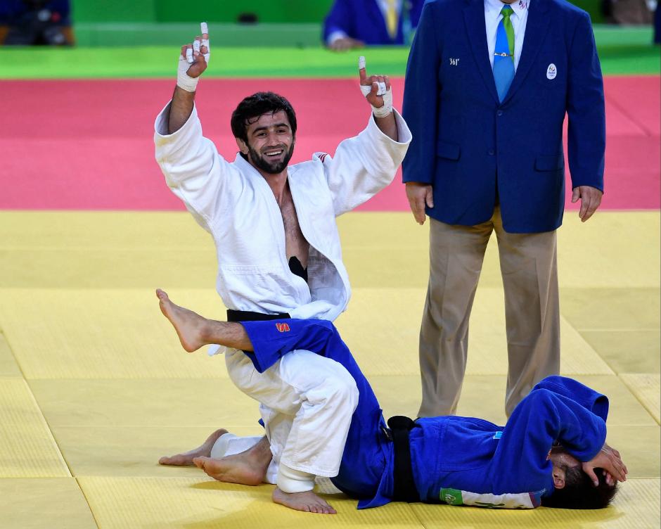 Олимпийский чемпион Беслан Мудранов