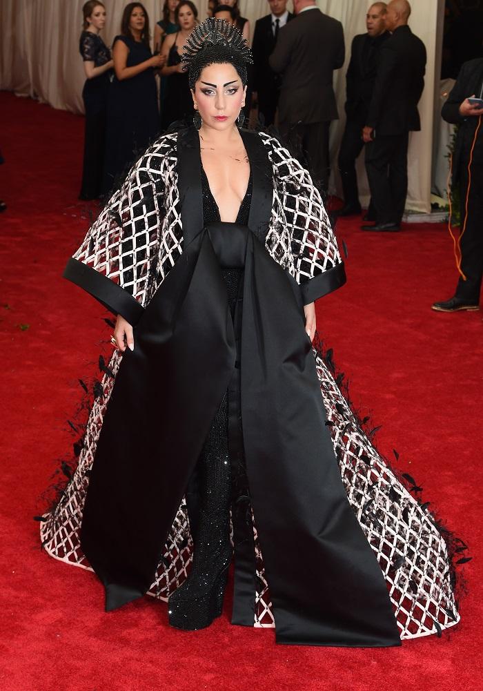 Леди Гага Met Gala 2015