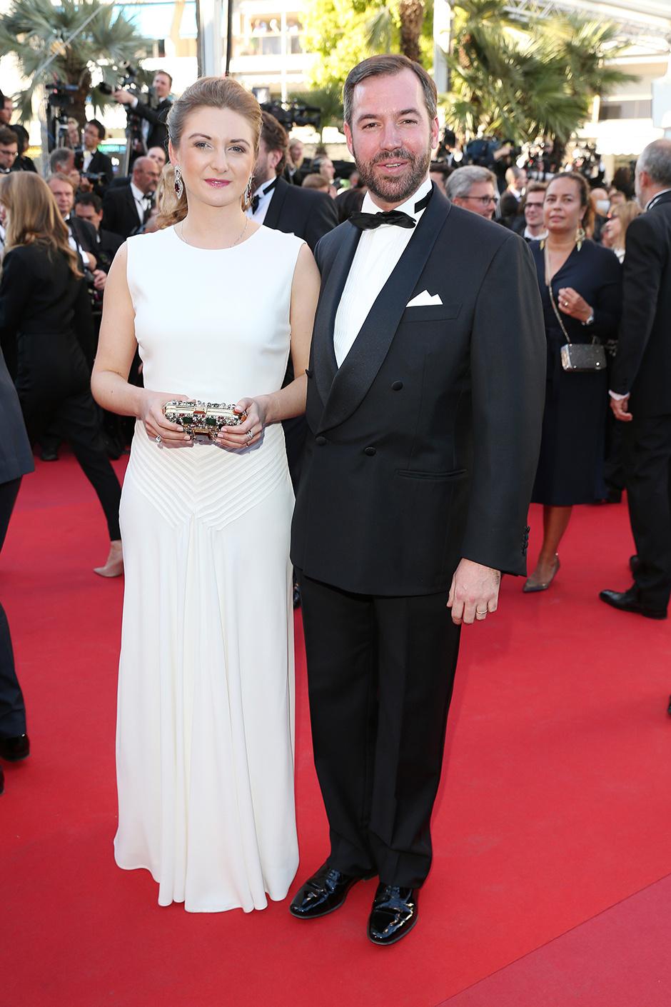 Принцесса Люксембурга Стефания и принц Люксембурга Гийом