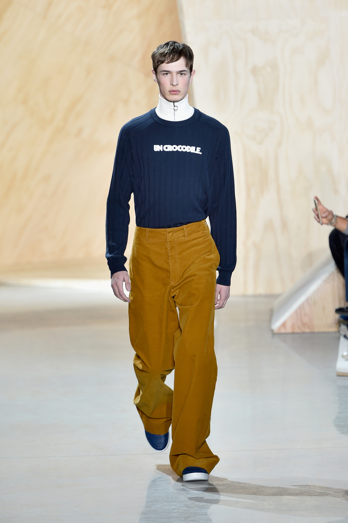 Показ Lacoste на Неделе моды в Нью-Йорке