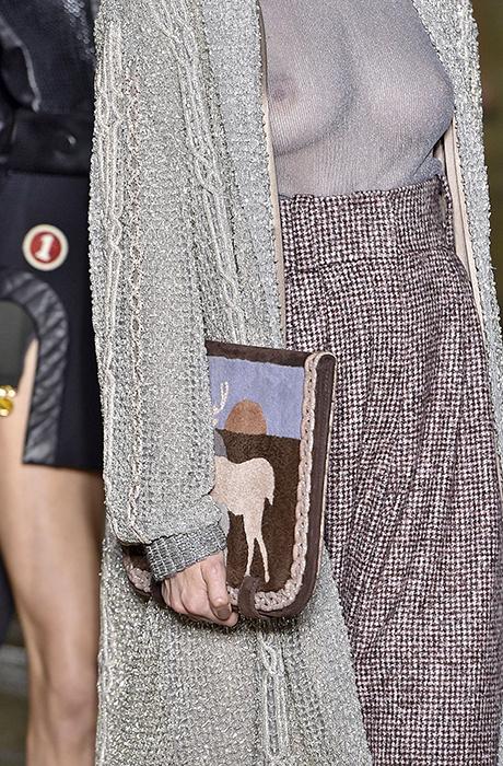 Самые красивые сумки с Недели моды Haute Couture в Париже