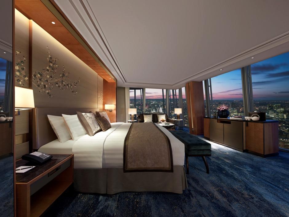 Elle Obsession: отель Shangri-La Hotel At The Shard в Лондоне