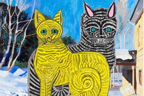 «Все по 100»: аукцион современного искусства от Vladey | галерея [1] фото [5]