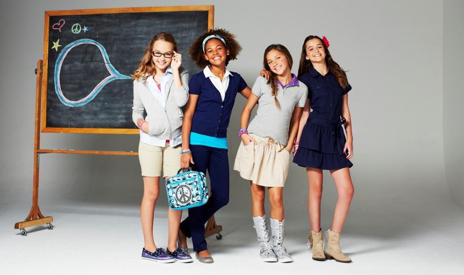 Школьная форма 2013. Фото новой модной школьной формы 2013-2014 в России