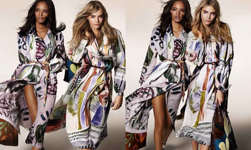 Модные платья от Burberry