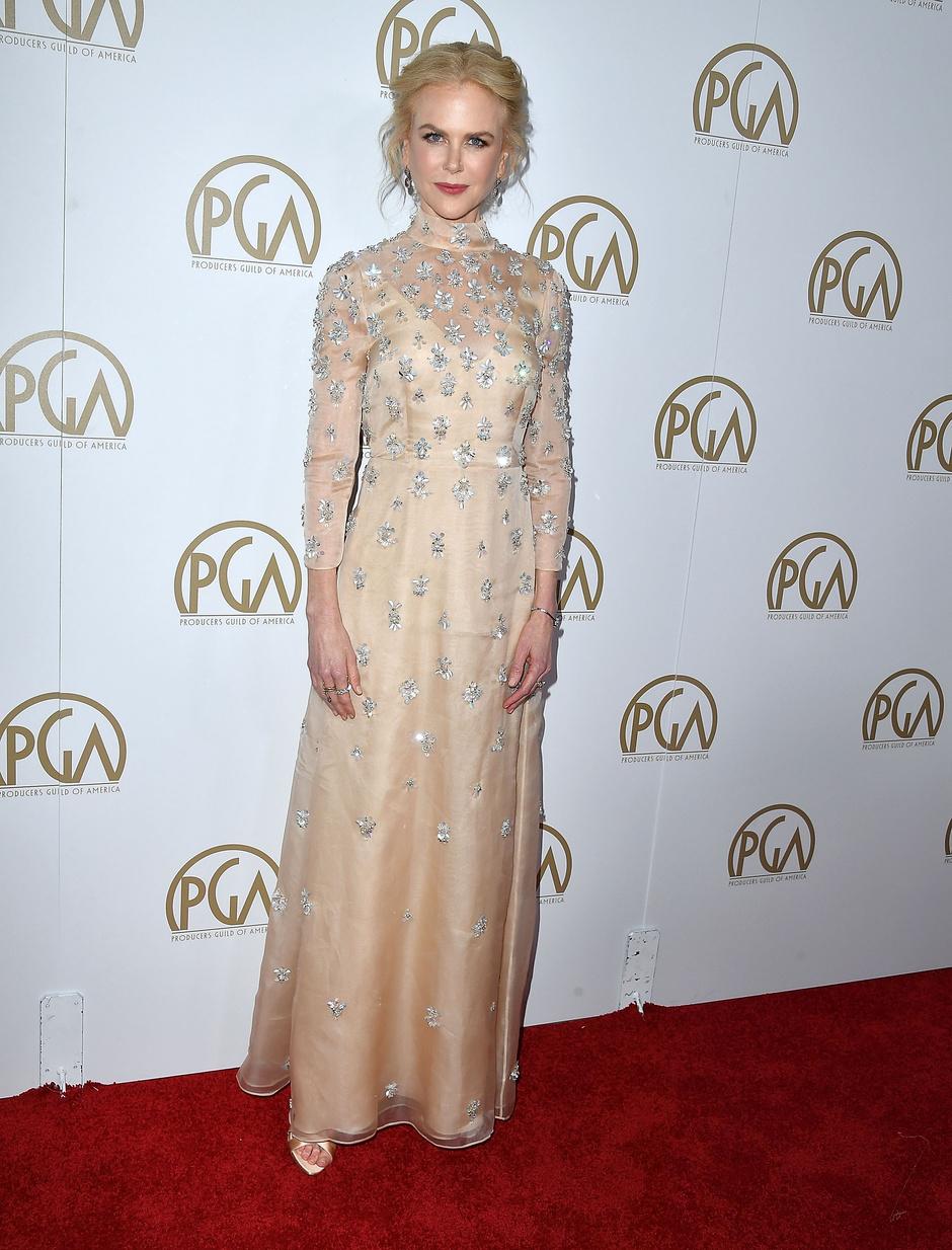 Николь Кидман в платье Prada, 2017 год