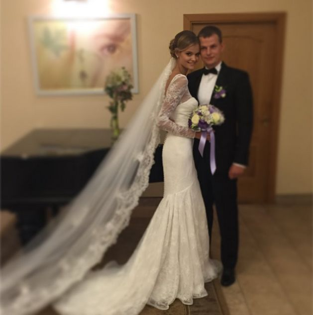 Катя Григорьева с супругом Александром