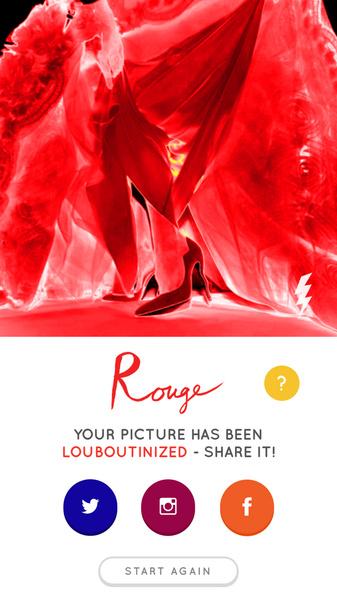 Christian Louboutin выпустил приложение для редактирования фотографий | галерея [1] фото [1]