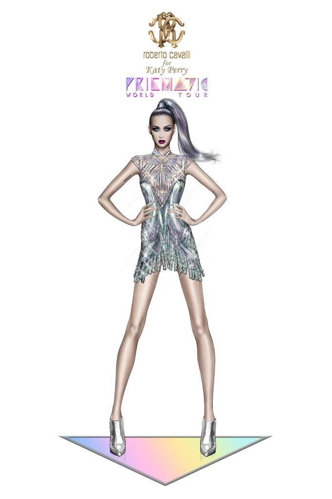 Роберто Кавалли создал наряды для выступлений Кэти Перри