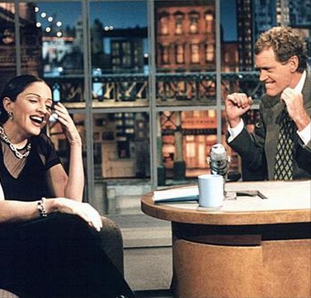 """Мадонна: """"Дэйв, я буду скучать по тебе! Куда мне теперь ходить на ТВ?!"""""""