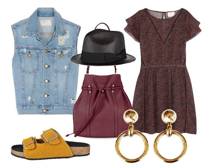 How to wear: жилет из денима с чем носить жилет