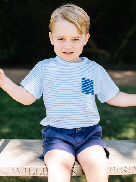 Новые фотографии принца Георга