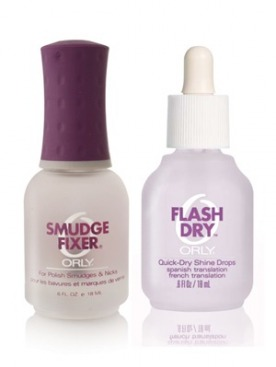 «3 в 1 » Flash Dry и Smudge Fixer от ORLY