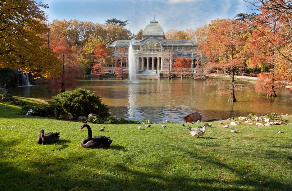 Parque del Retiro, Мадрид, Испания