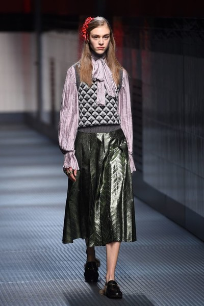 Показ Gucci на Неделе моды в Милане | галерея [1] фото [32]